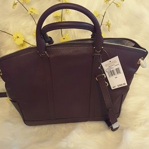 Michael kors Bags - Michael kors genuine leather Beckett LG TZ satchel